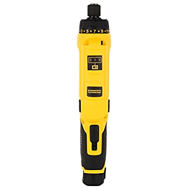 DEWALT DCF680G2-GB 7.2V 6.35 mm XR Li Ion Cordless Motion Activated Screwdriver with 2x1.0 Ah batteries included 11
