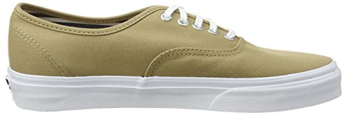 Beige Authentic Khaki Erwachsene Unisex Club Vans Sneakers Deck xInTqvqRS