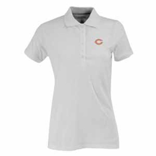 NFL Women's Chicago Bears Spark Short Sleeve Polo (White, - Store Polo Chicago