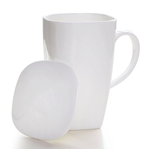 DHWM-In The Personalized Bone China Large Cups With Lids, Continental Simple Water Bowl, The Korean Ceramic Mug E Juice Jug.