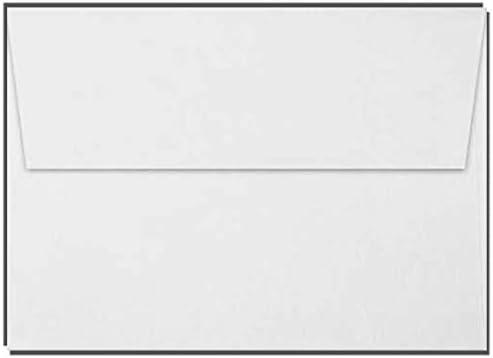 1000 White A7 Photo Wedding Party Announcement Envelopes 5 1//4 x 7 1//4 - Fits 5x7