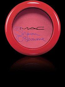 Mac Powder Blush - PEACHES & CREAM ~ Sharon Osbourne Collection