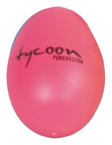 Tycoon Percussion Plastic Egg Shakers - Pink - TE-P