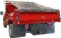 Buyers Products DTR7512 7.5' x 12' Dump Truck Roll Tarp Kit by Buyers Products (Image #2)