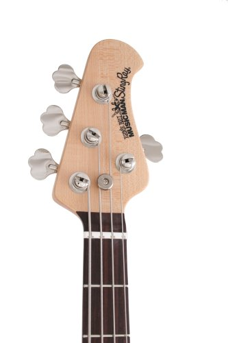 Ernie Ball Music Man Stingray 4 Bass, Black, Single Humbucker, Rosewood Board by Music Man (Image #2)