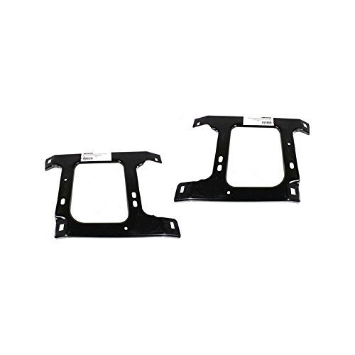 - Bumper Bracket Set of 2 Right and Left Side Front Steel compatible with Dodge Full Size P/U 02-09 Support