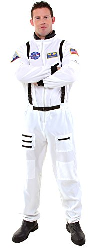 Home Halloween Costumes Teenagers (Teen -Costume Astronaut White Teen Halloween Costume - Most Teens)