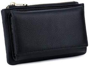 Men  Black Genuine Cowhide Multi-Functional Key Bag Packet Key Package Wallet