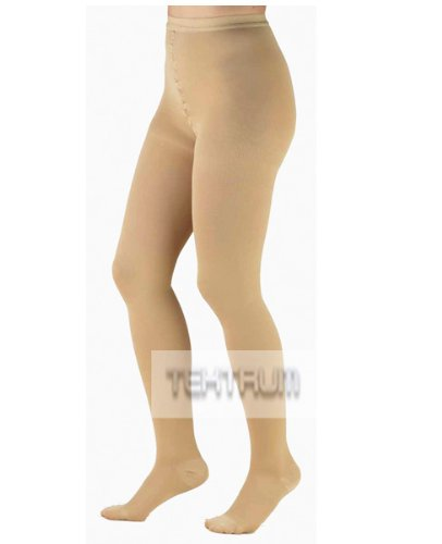 Waist High Firm Compression Pantyhose Medical Stockings 2...