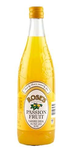 Roses Passion Fruit Cordial 750ml by Rose's