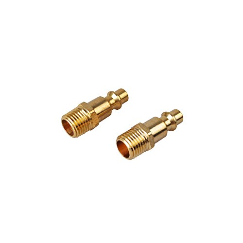 powryte-basic-1-4-inch-industrial-solid-brass-quick-coupler-plug-set-1-4-inch-npt-male-thread-2-pack