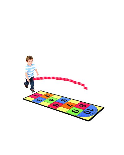 Hopscotch Game Rug (TravenPal Giant Hopscotch Rug Game)