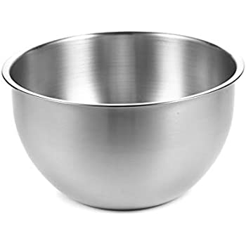 Stainless steel mixing bowl - 12 inch bowl - Mixing bowls - stainless steel bowls - metal bowl - baking bowls - stainless steal bowl