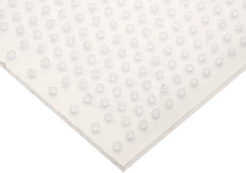 Polypropylene Perforated Straight Opaque Off White
