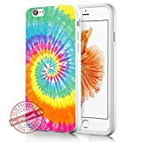 hippy-tye-dye-style-art-fashion-iphone-6-6s-case-cover-white-rubber-silicone-protector