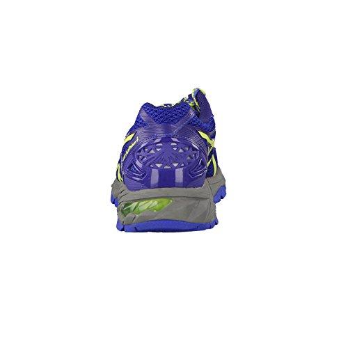 ASICS - Gel-fujitrabuco 4, Zapatillas de Running mujer Azul / Amarillo