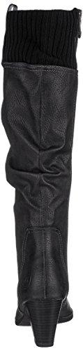 Women's Boots comb Marco Black 25511 Tozzi Ant Black q5xzwzat6