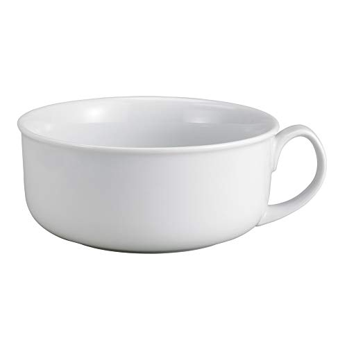- HIC Harold Import Co 98057 HIC Oversized Hotel Breakfast Bowl, 28-Ounces, Fine White Porcelain