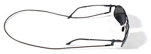 Croakies Premium Leather Cords Brown Spec End 2-Pack by Croakies, USA
