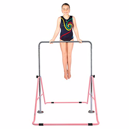 Safly Fun Gymnastics Bars Expandable Children