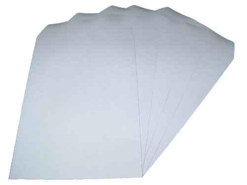 50 x C4/A4 Plain White SELF Seal ENVELOPES 90gsm SS globe