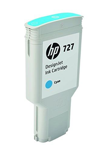 HP 727 (F9J76A) 300-ml Cyan Original Ink Cartridge for DesignJet T920, T2500