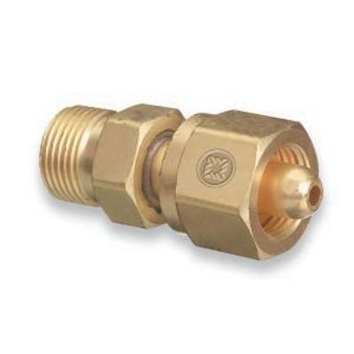Western Enterprises Brass Cylinder Adaptors - we 827 adaptor