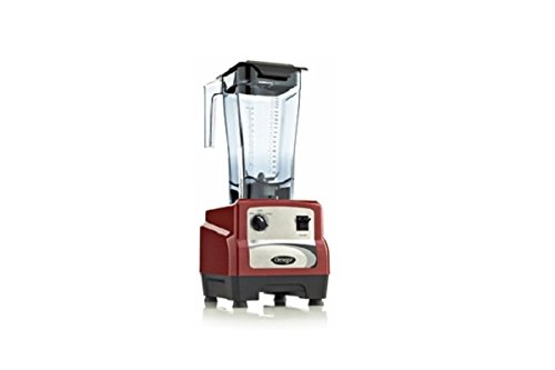 Omega 440 3Hp Blender With On/Off, High/Low Pulse Bl440Red