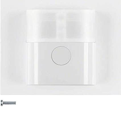 Berker 85341279 Sensor de infrarrojos Pared Blanco detector de movimiento - Sensor de movimiento (Sensor