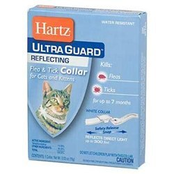 Hartz Ultra Guard Reflecting Flea & Tick Cat Collar 1 Each (Pack of 6)