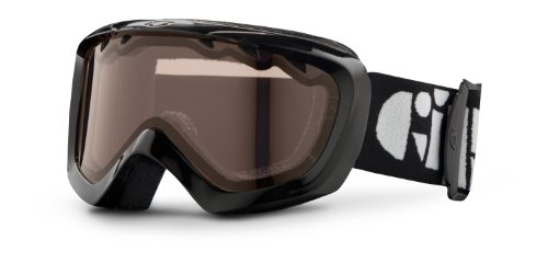 Giro Chico Goggle (Black, Amber Rose 40), Outdoor Stuffs