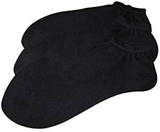 NEGROS COTTON)  Pack Set/Pack 6 pares calcetines tobilleros lisos ...