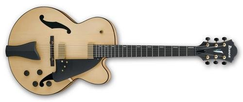 Ibanez Contemporary Archtop AFC95 Hollow Body Electric Guitar (Natural)