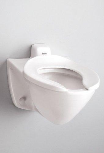 Toto CT708EVNo.03 Commercial Flushometer Toilet, 1.28-GPF-ADA, Bone