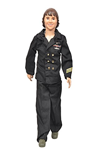 Damara Boys Cool Black Uniform For Doll