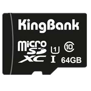 Sut Kingbank class10 de 64gb u1 tf micro SDHC memmory tarjeta del tf