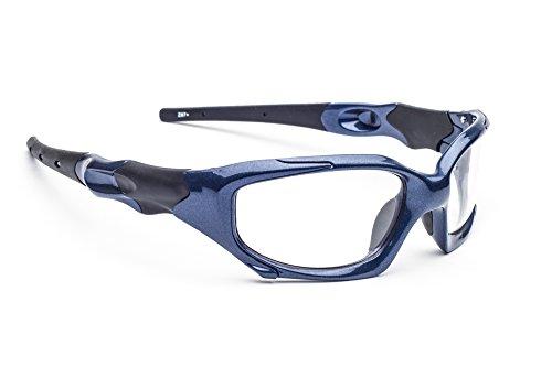 Leaded Glasses Radiation Protective Eyewear PSR-100 (Blue)]()