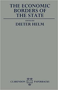 Book The Economic Borders Of The State (Clarendons)
