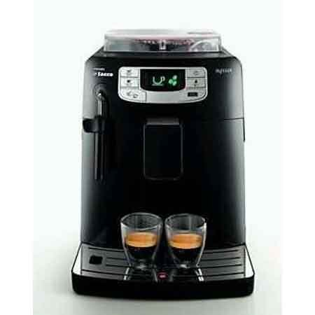Saeco - Cafetera Espresso Intelia Focus Hd875111, Automatica ...