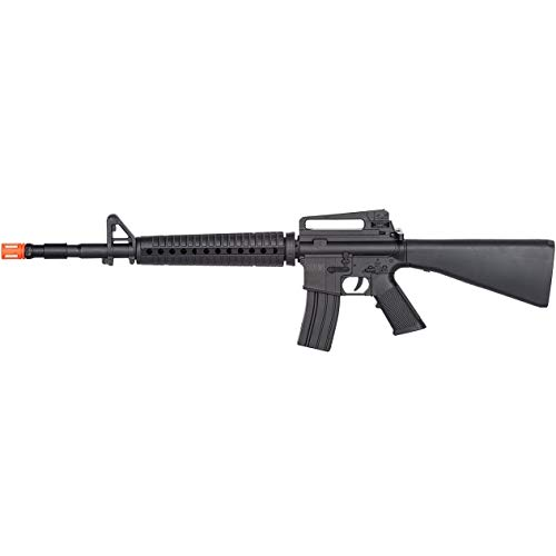 (AirSoft M-16 Tactical Spring Rifle Gun w/ 6mm BB BBS Vietnam War M4 A1)