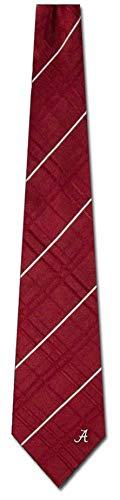 Eagles Wings Alabama Crimson Tide Oxford Woven Silk Tie