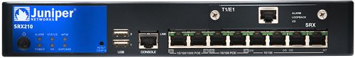 Juniper Networks - SRX210B - 8port Srx 210 1pim Slot 1excd by Juniper Networks