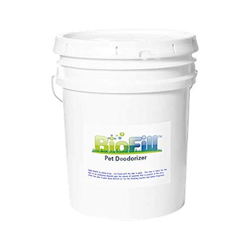 BioFill Pet Deodorizer Granular Infill for Artificial Grass Turf, All Natural Dog Urine Neutralizer, Outdoor Use, 40 lb Pail