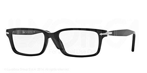 Persol Men's PO2965VM Eyeglasses Black - Men's Eyeglasses Persol