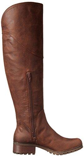 ... Heldige Kvinner Harleen Riding Boot Muskat
