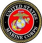 USMC U.S. Marine Corps Seal Car Decal Sticker Military 4