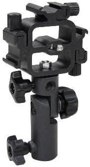 CHIMAERA Swivel Triple Hot Shoe Adapter Umbrella Holder Bracket