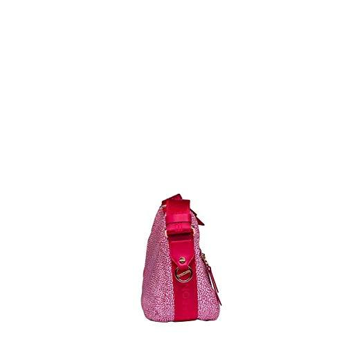 Pvc Borbonese Rose Femme Sac Épaule Porté 934370296s26 axZUqw8