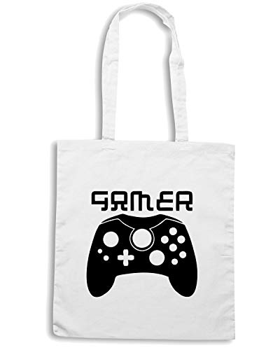 Speed Shirt Borsa Shopper Bianca OLDENG00298 XBOX GAMER