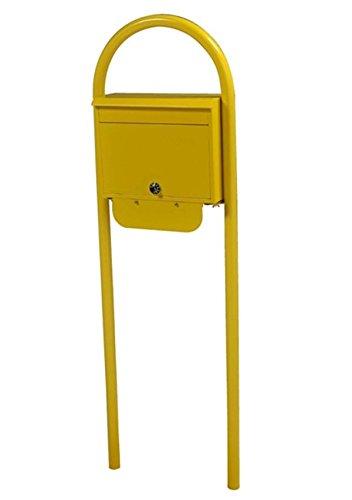 KGY セレクトカラーポストSG-5000 + アーチスタンドセットAS-1 『ケイジーワイ 郵便ポスト』 イエロー B07263K2DS 23730